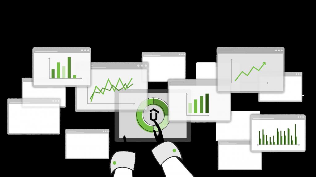 User-friendly dashboard animation